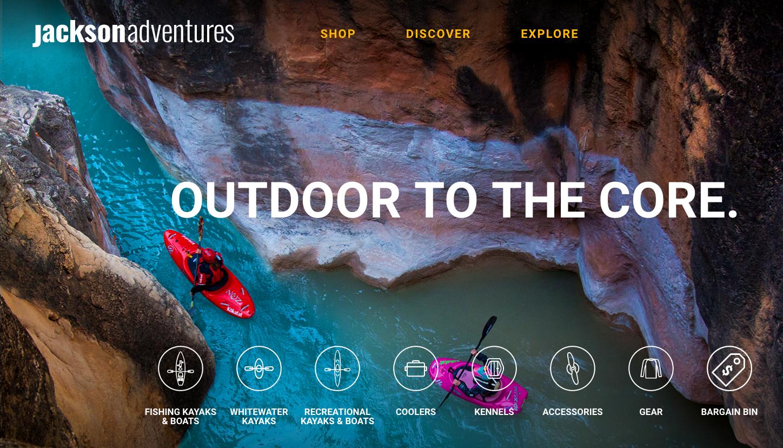 Jackson Adventures Website
