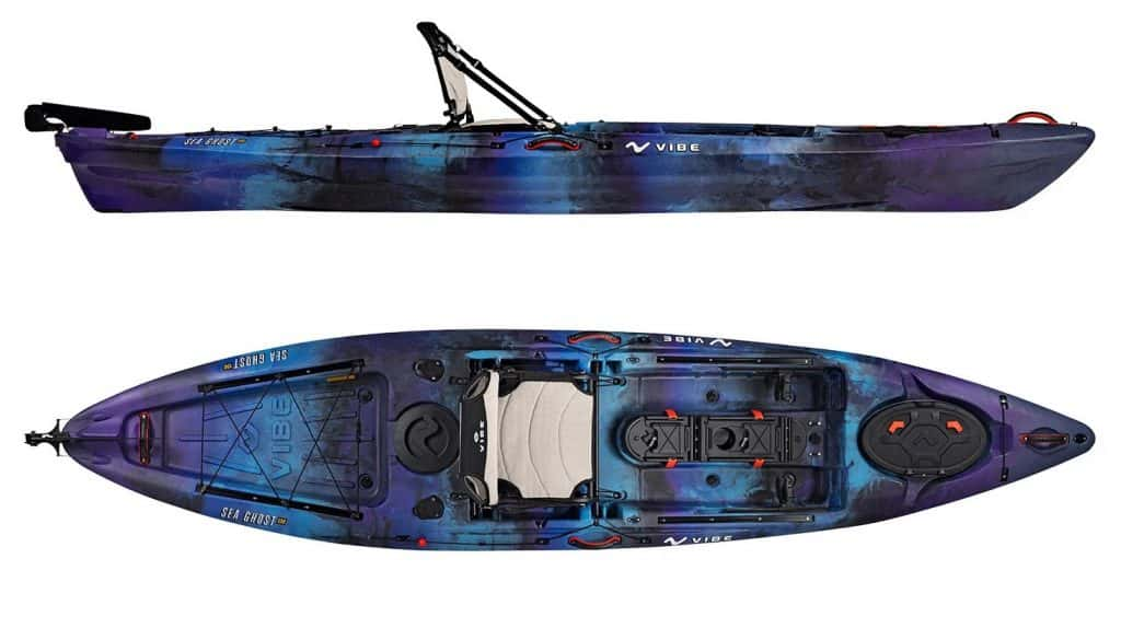 Vibe Sea Ghost 130 fishing kayak