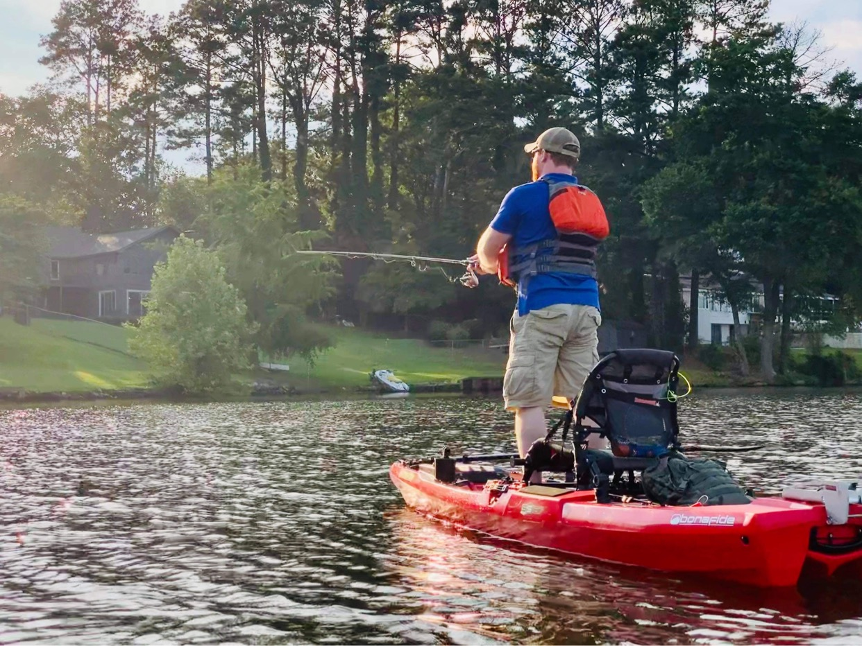 Bonafide SS127 fishing kayak