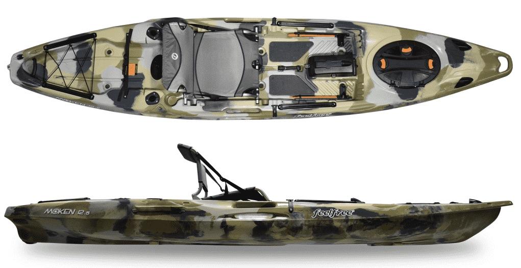 FeelFree Moken 12.5 V2 fishing kayak