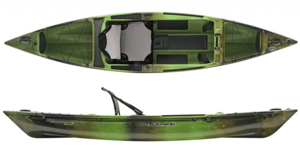 Native Ultimate 12 fishing kayak/canoe