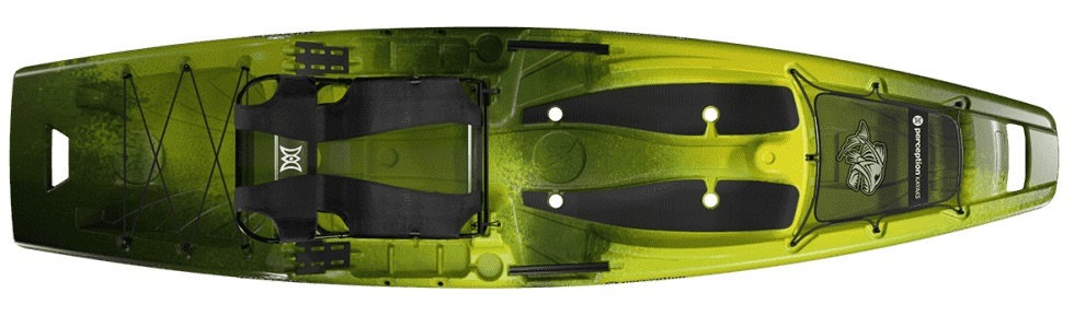 Perception Outlaw 11.5 fishing kayak under $1,000