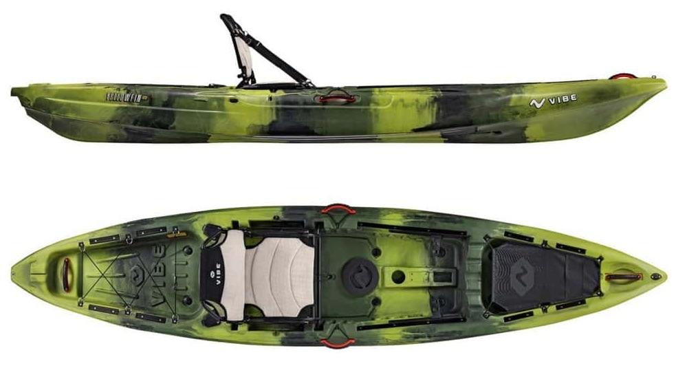 Vibe Yellowfin 120 fishing kayak under 1000