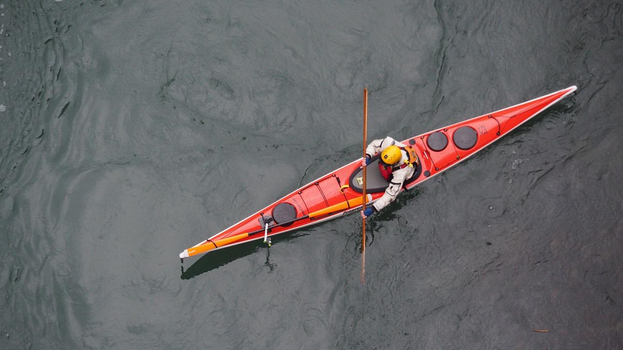 Anatomy of a kayak