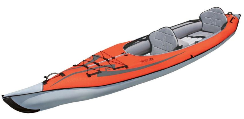 Advanced Elements AdvancedFrame Convertible inflatable tandem kayak
