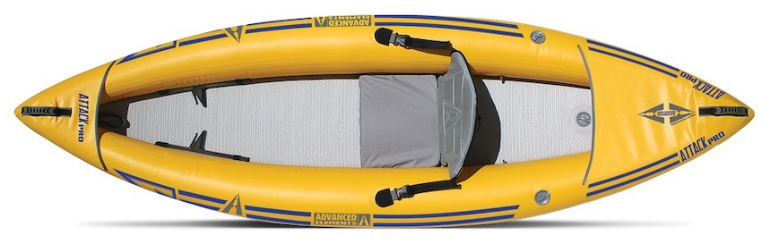 Advanced Elements Attack Pro inflatable whitewater kayak