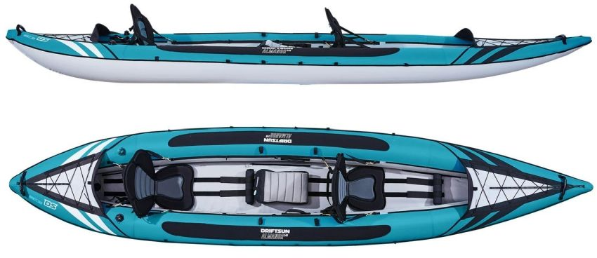 Driftsun Almanor 146 two seater inflatable kayak