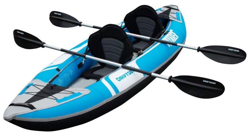 Driftsun Voyager kayak for 2 people
