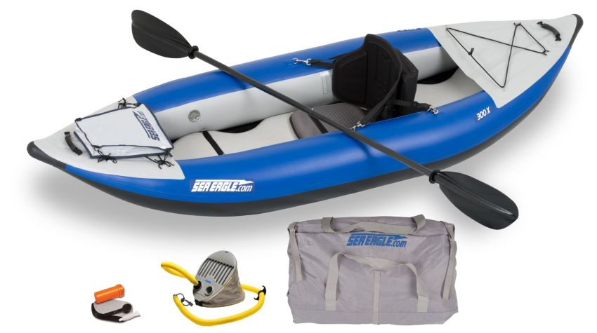 Sea Eagle SE300X Explorer inflatable whitewater kayak