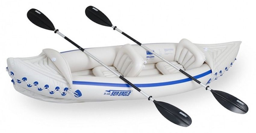 Sea Eagle 330 budget tandem kayak