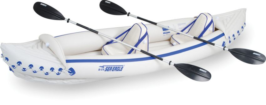 Sea Eagle 370 inflatable kayak
