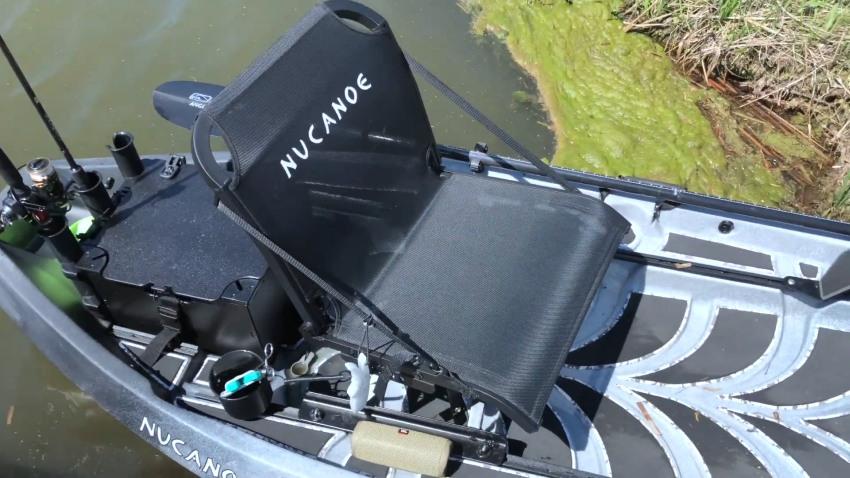 NuCanoe F10 seat