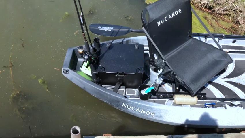 NuCanoe F10 stern