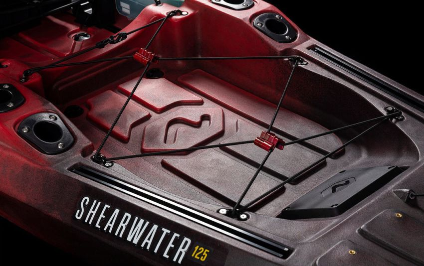 Vibe Shearwater 125 tank well