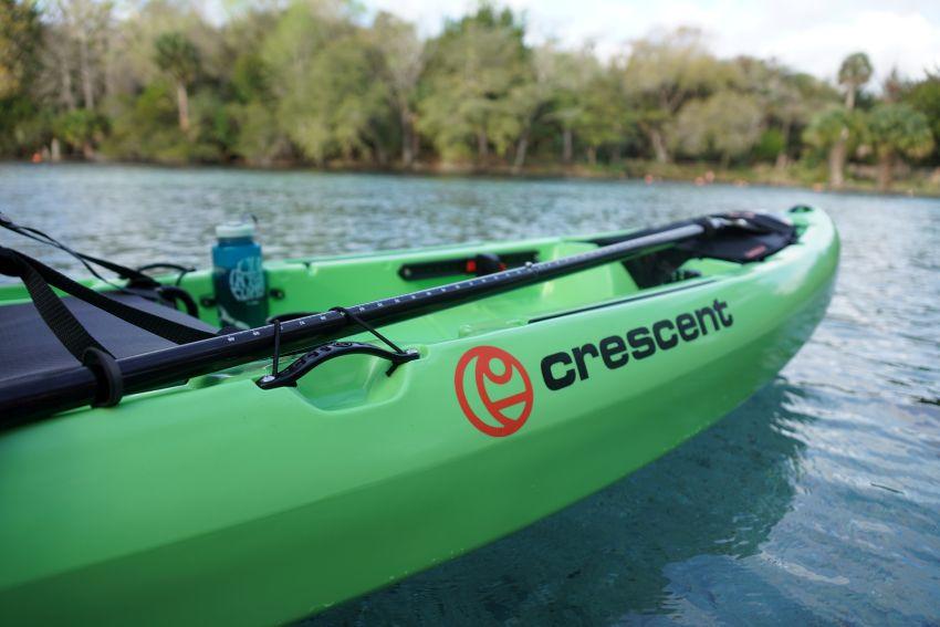 Crescent CK1 Venture kayak: paddle holder