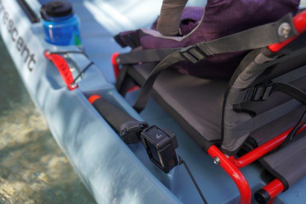 Crescent CK1 Venture kayak tackle storage