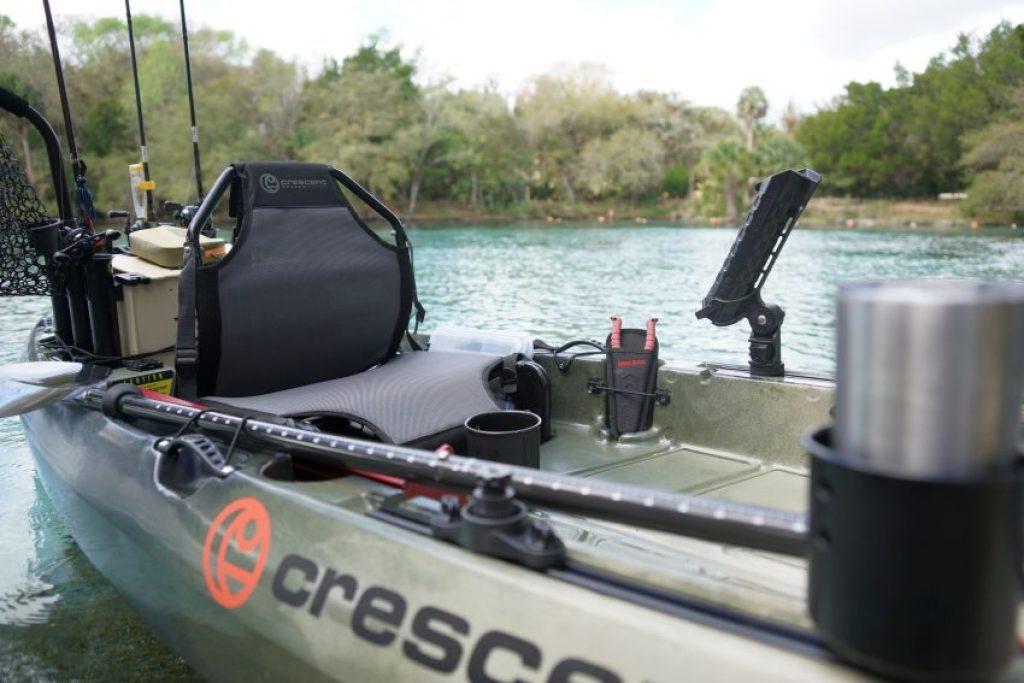 Crescent CK1 Venture kayak: gear tracks