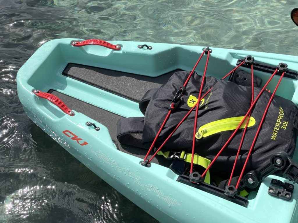 Crescent CK1 Venture kayak rear tankwell