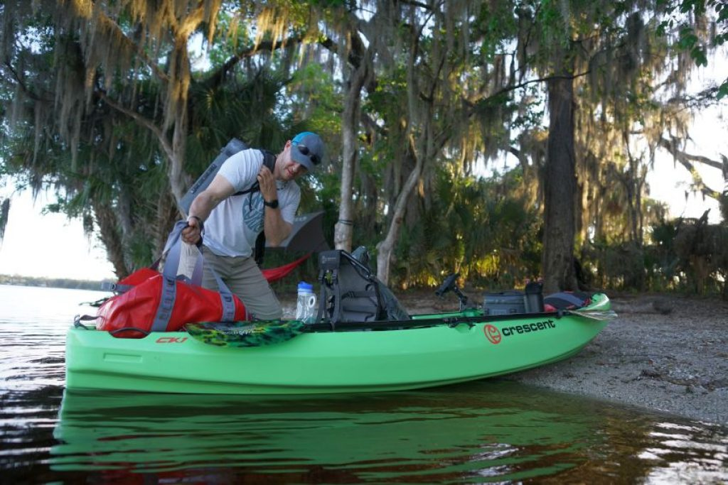 Crescent CK1 Venture kayak: lots of load capacity