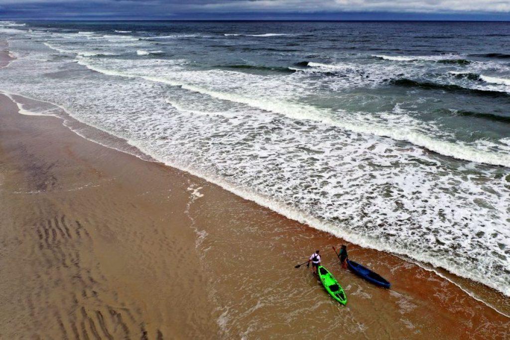 Crescent CK1 Venture kayak on the beach