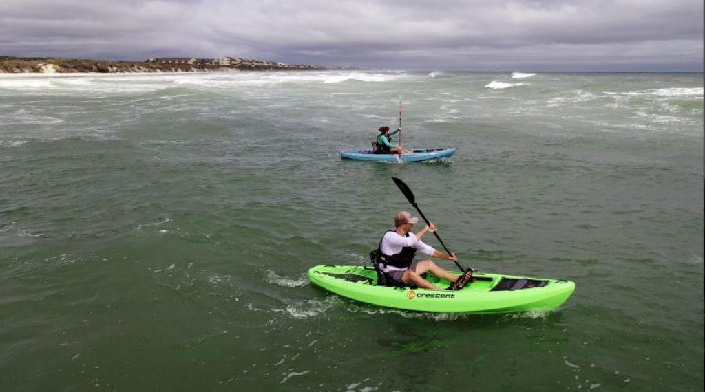 Crescent CK1 Venture kayak: performance in surf